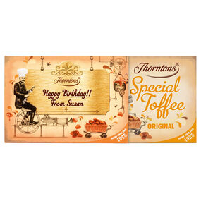 Personalised Original Toffee Box (525g)