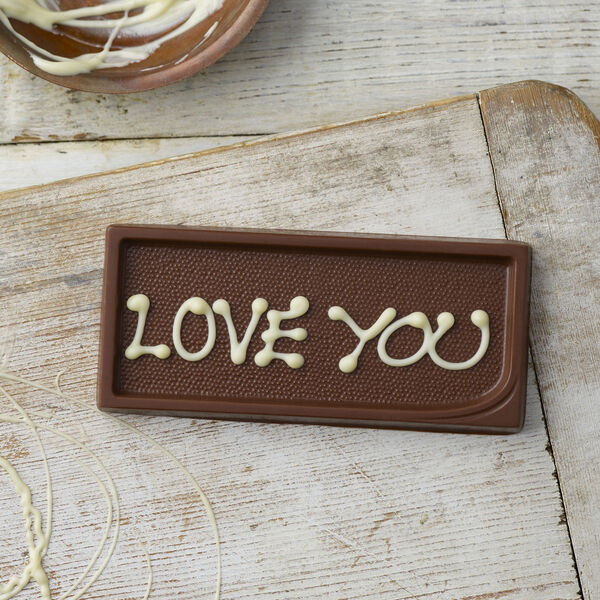 Personalised Milk Chocolate Gift Tag (25g)