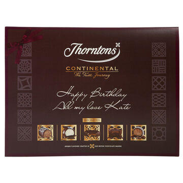 Personalised Continental Dark Collection (284g)