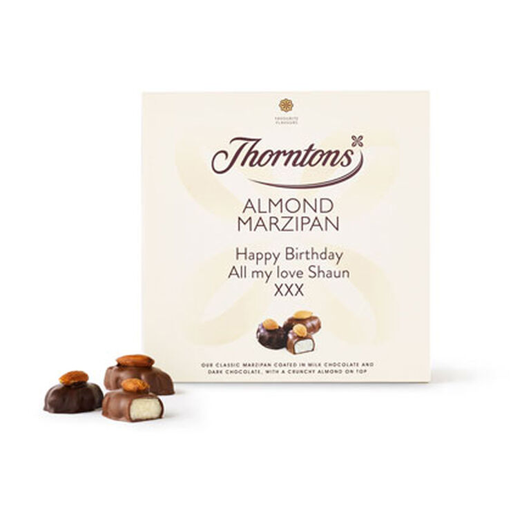Personalised Almond Marzipan Box