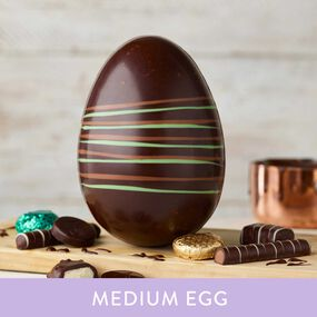 Dark Mint Chocolate Easter Egg (238g)