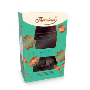 Dark Chocolate Mint Easter Egg