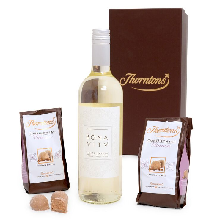 White Wine and Chocolate Hamper
