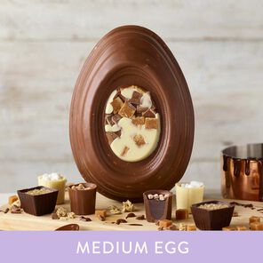Chocolate Fudge Brownie Inspired Easter Egg (338g)
