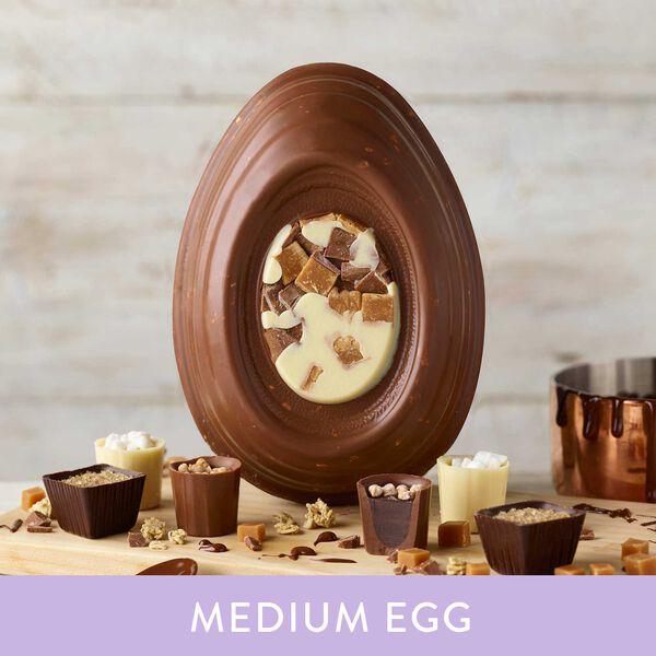 Chocolate Fudge Brownie Inspired Easter Egg (338g)