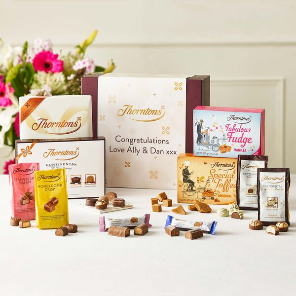 Personalised Signature Flavours Chocolate Hamper
