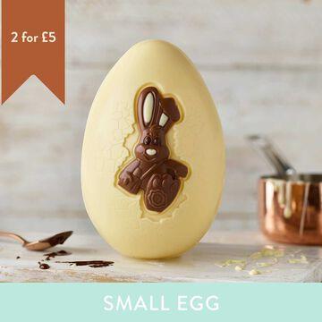 White Chocolate Harry Hopalot Easter Egg (151g)