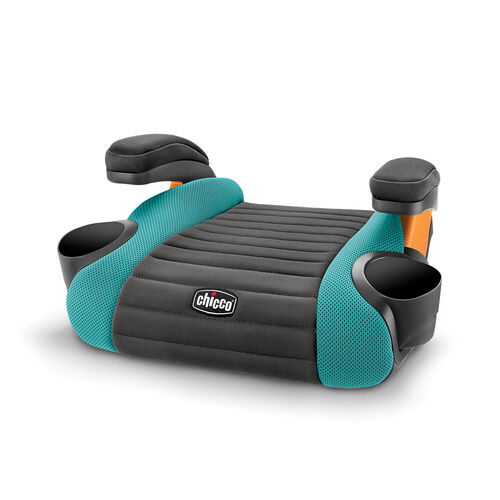 GoFit Backless Booster Car Seat - Raindrop in