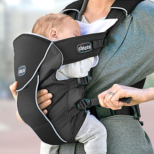 Easily adjust the UltraSoft Magic Infant Carrier to fit baby with the side straps