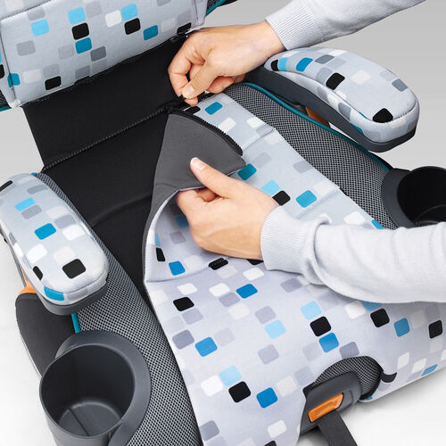 Extra zip-off seat pad adds more padding and comfort, and can be washed in your washing machine