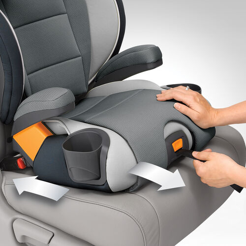 Add and extra layer of security when you install your KidFit Belt Positioning Booster Seat with LATCH connectors and one-pull LATCH tightening strap