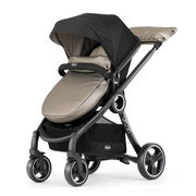 The Euro style stroller is the easiest to transform from carrier to carriage and accomodates growing children.