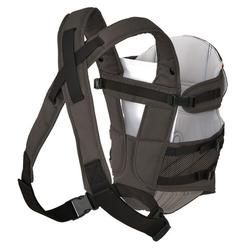 Adjustable, padded straps provide comfort for mom or dad when using the chicco ultrasoft carrier stix