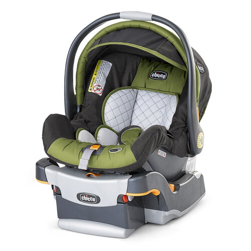 Chicco KeyFit 30 Car Seat Elm - light forest green and charcoal grey