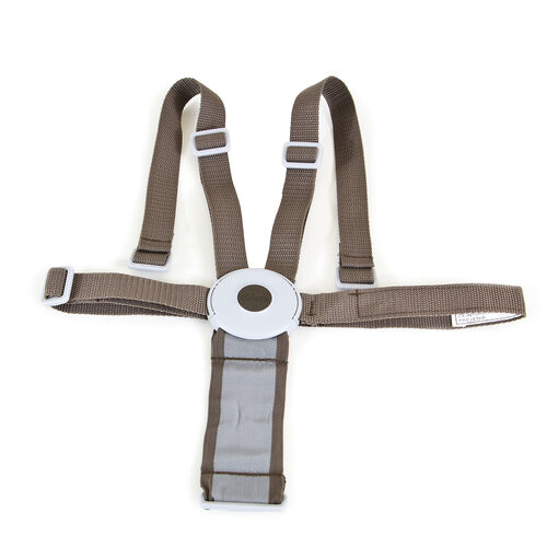 Replacement safety harness for Chicco Polly Highchairs sold in 2013 - Brown