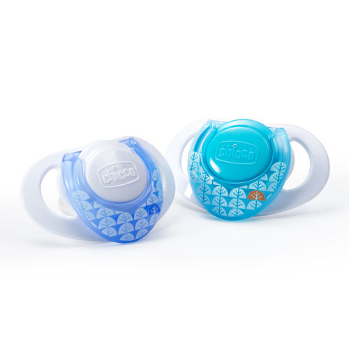 NaturalFit Deco 0M+ Orthodontic Pacifiers are BPA and LATEX Free