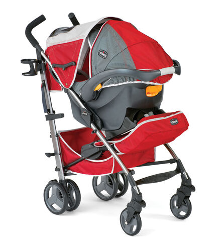 Chicco Liteway Plus Stroller KeyFit Carrier Mode with Fully Extended Canopy