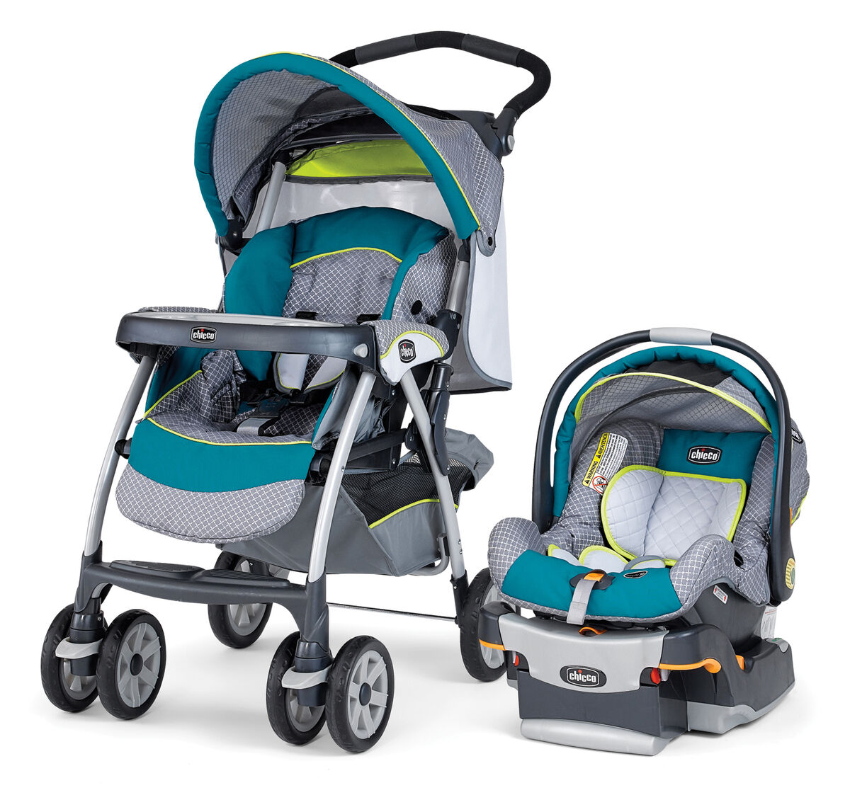 Chicco Lime Green Travel System