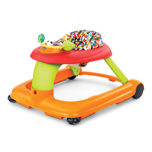 Chicco 1-2-3 Walker in bright multicolored Confetti style