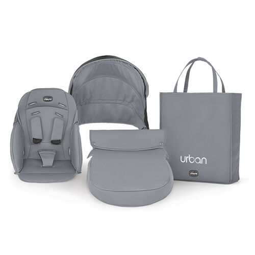 Chicco Urban Stroller Color pack in gray Coal