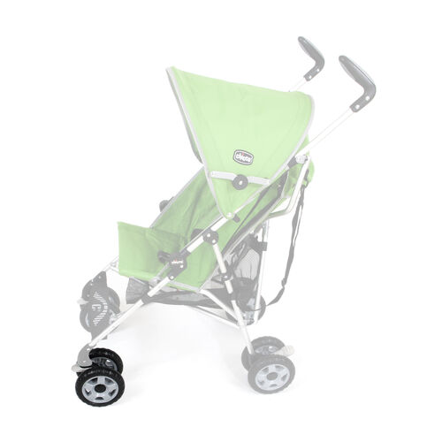 Front wheel assembly on Chicco Capri Stroller