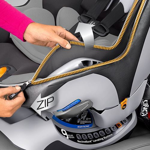 NextFit iX Zip convertible car seat - Manhattan in
