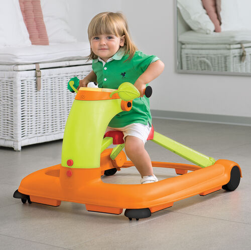 Using the 1-2-3 Walker as a ride-on vehicle