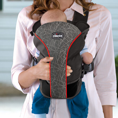 Unique Cuddle Pocket in the chicco ultrasoft carrier stix
