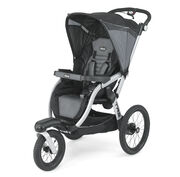 Chicco TRE Jogging Stroller in masculine black and dark gray - Titan Fashion