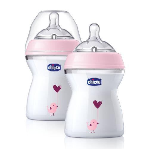 NaturalFit Newborn Gift Set - Pink Deco in