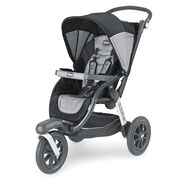 Chicco Activ3 Jogging Stroller Legend - black and steel gray