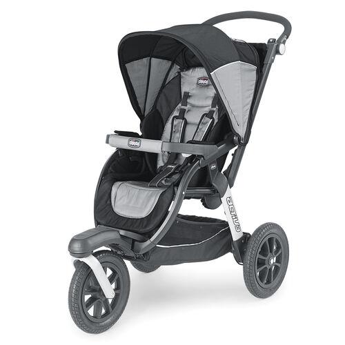 Chicco Activ3 Jogging Stroller Legend - black and steel gray