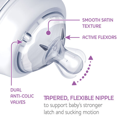 NaturalFit Nipple - 6m+ Fast Flow (2pc set) in