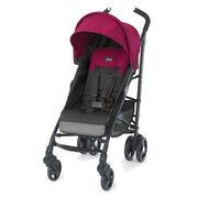 Chicco Liteway Stroller in Dark Gray with Fuchsia Accents - Jasmine