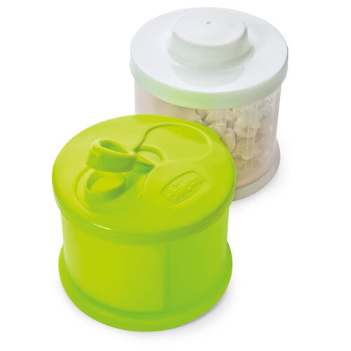 The NaturalFit Multi-Use Formula Dispenser includes two separate containers that snap together