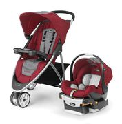 Viaro Travel System - Cranberry in