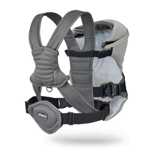 Chicco Coda Baby Carrier in shades of gray - Graphite