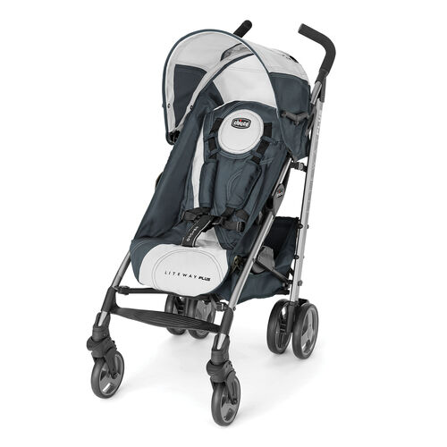 Chicco Liteway Plus Stroller in dark teal with silver accents - Avena Fashion