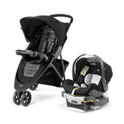 Introducing the new Viaro stroller with one-hand quick fold comes loaded with convenient features