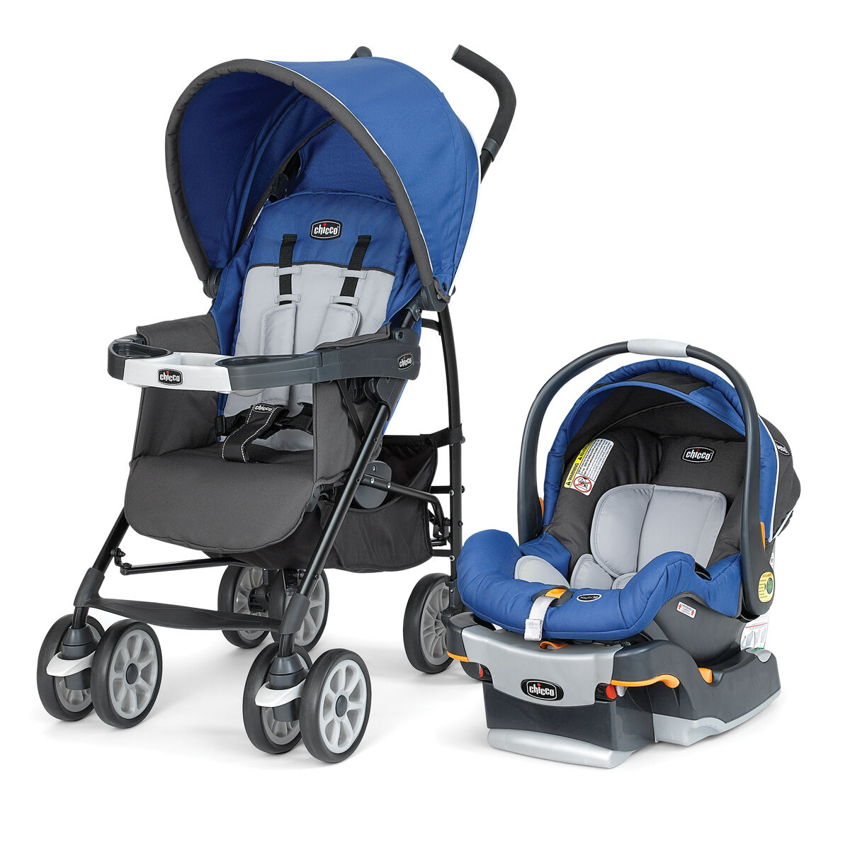 Chicco Neuvo Travel System With Keyfit  Infant Car Seat