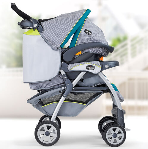 The Cortina SE Stroller accepts the KeyFit and KeyFit 30 Infant Car Seats to create a convenient travel system