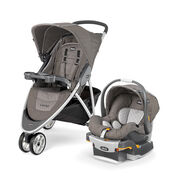 The lightweight, quick-fold Chicco Viaro travel system gives you freedom to stroll