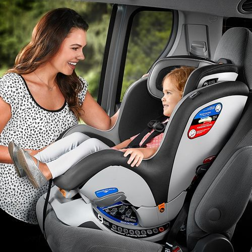 NextFit iX Zip Convertible Car Seat - Midnight in
