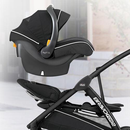 BravoFor2 LE 2-Passenger Standing/Sitting Quick-Fold Stroller - Genesis in
