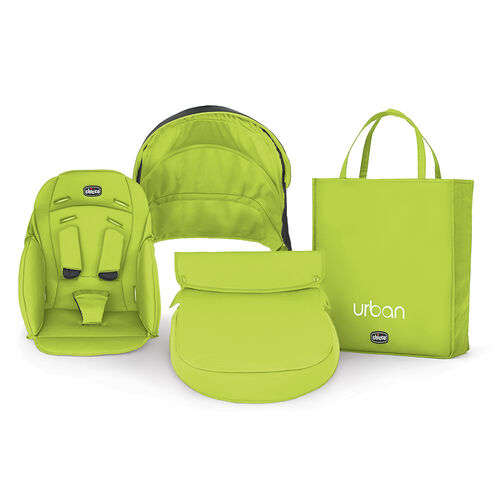Chicco Urban Stroller Color Switch Pack in Bright Lime Green