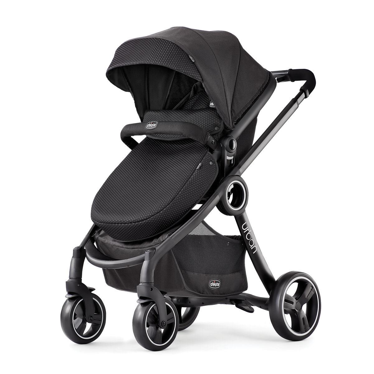 baby gear  baby strollers  chicco stroller - urban in modular stroller  obsidian