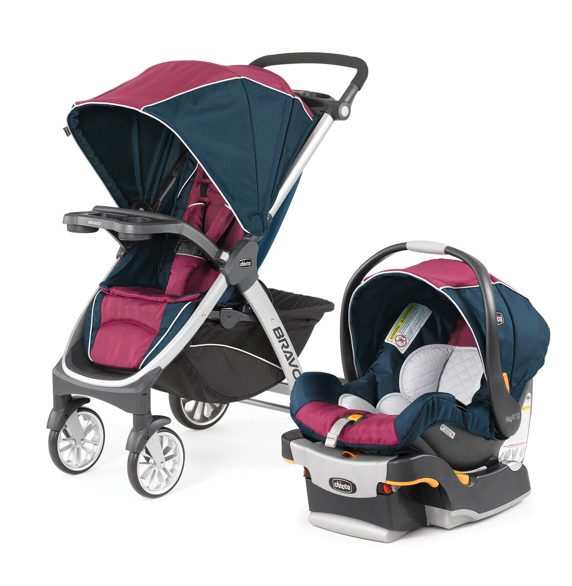 chicco bravo trio travel system blackberry. Black Bedroom Furniture Sets. Home Design Ideas