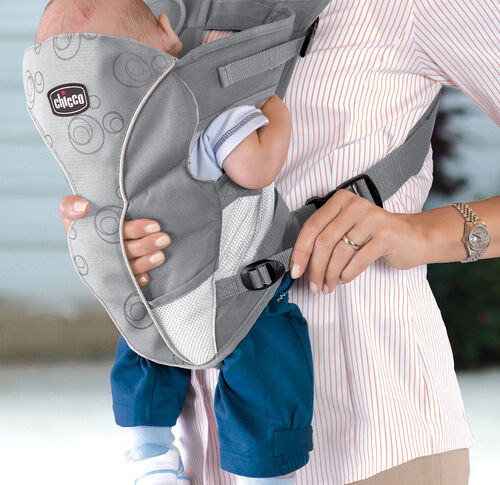 How to adjust the fit of the UltraSoft Baby Carrier to fit your child