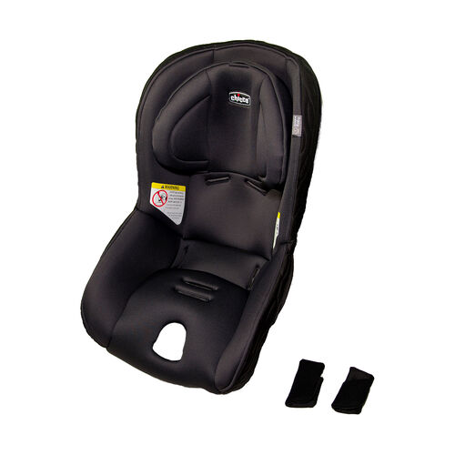 Fit2 Rear-facing Infant & Toddler Car Seat Cover, Pads, and Head Rest - Legato in Black
