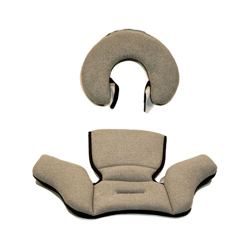 KeyFit 30 Zip Infant Car Seat Head & Body Insert - Obsidian in Obsidian